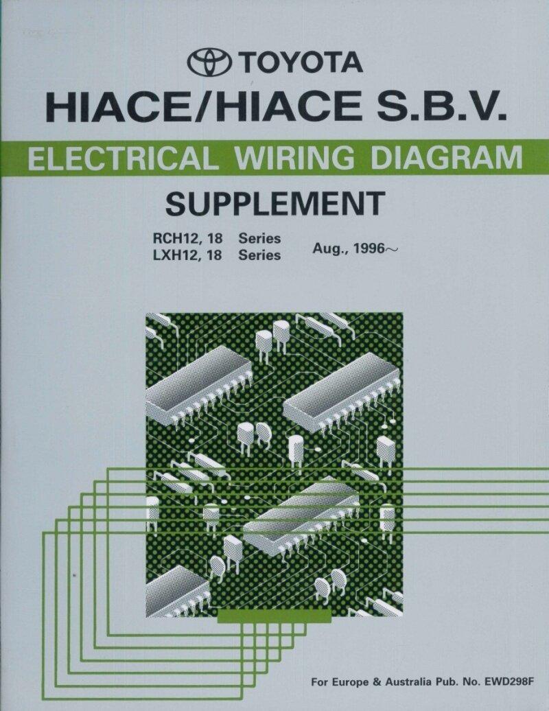 1997 Toyota Hiace Sbv Electrical Wiring Diagram Rch Lxh 12 18 Granvia Zahlungsbedingungen Payment